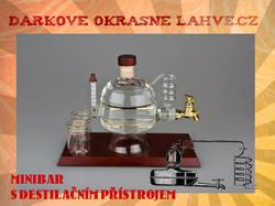 Dárková láhev minibar destilační
