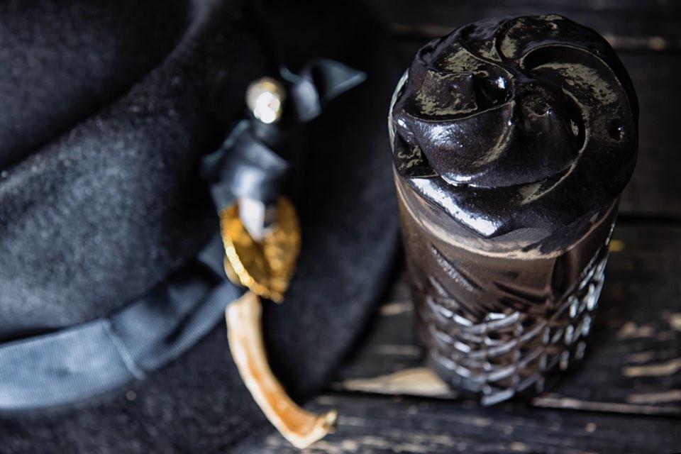 Matte black latte vogue