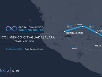 Mexloop: De Guadalajara a Ciudad de México en 38 minutos