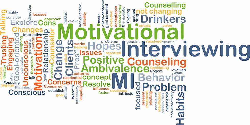 Online Motivational Interviewing Training: November 16th & 18th, 2021