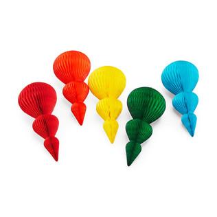 MoMA - Honeycomb Drop Ornament Set