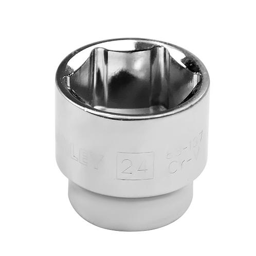 COPA HEXAGONAL 24mm. RAIZ 3/8 STANLE 88-137
