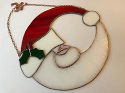 Crescent Moon Santa