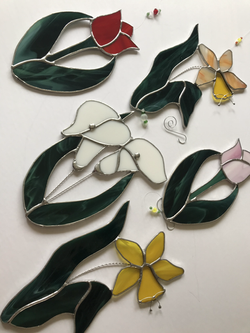 Spring Flowers Suncatchers