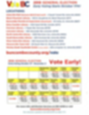 Early Voting Sites and Hours 2018 Gen..p