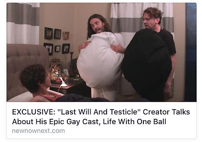 Last Will & Testicle NewNowNext