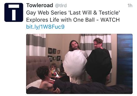 Last Will & Testicle Towleroad