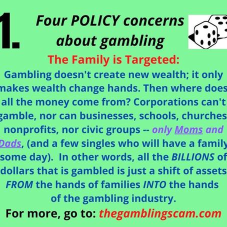 4 Policy Concerns - Facebook Posts
