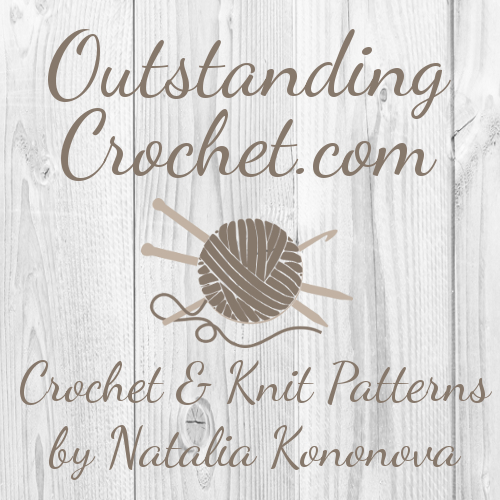 Crochet & Knitting Patterns by Natalia Kononova