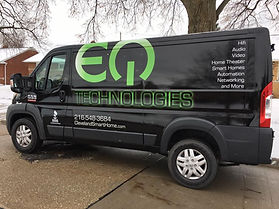 EQ Technologies Van