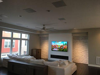 HDTV with Surround Sound
