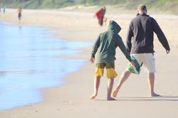Walking in dad's footsteps!