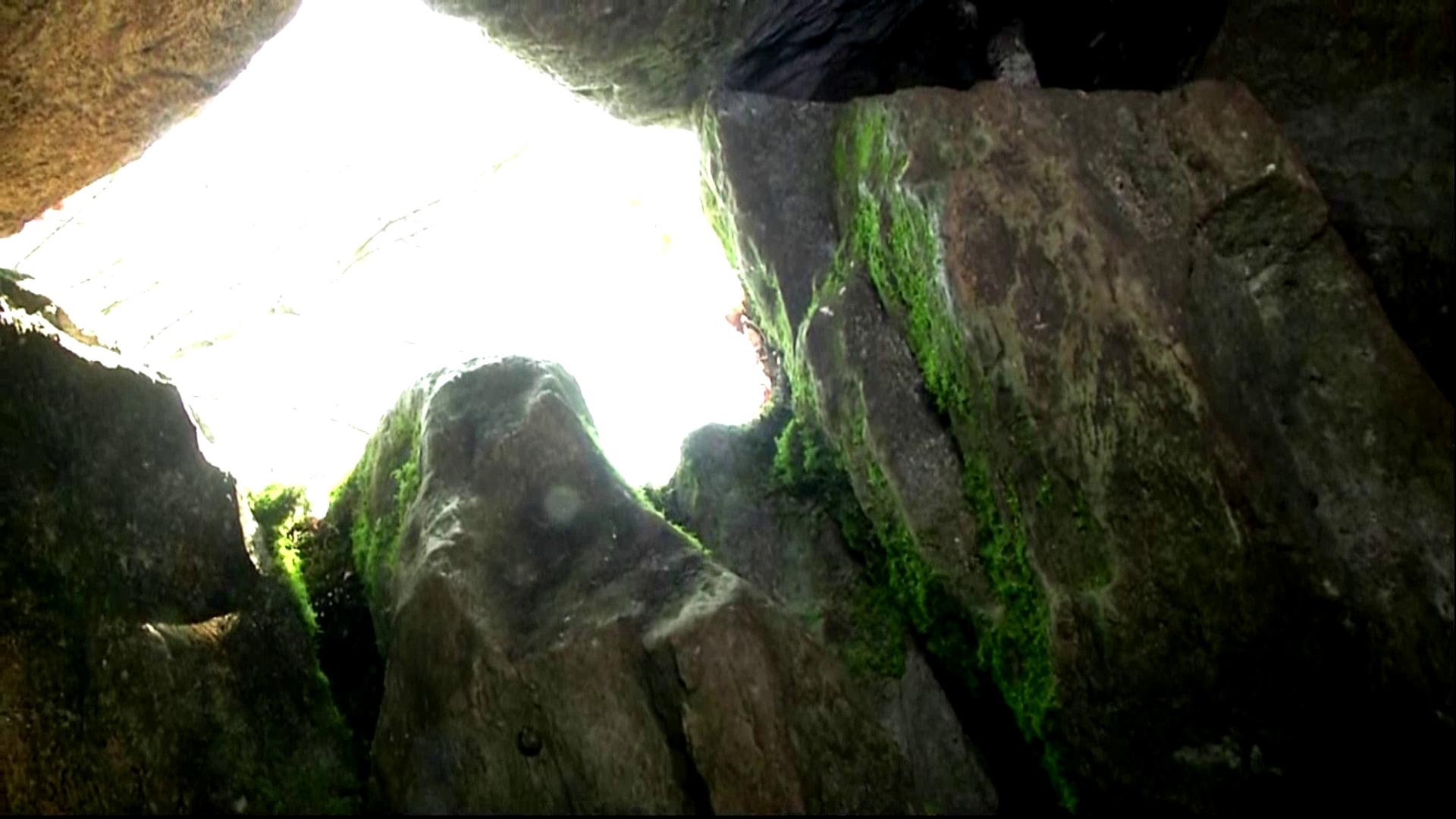 Пещера изнутри