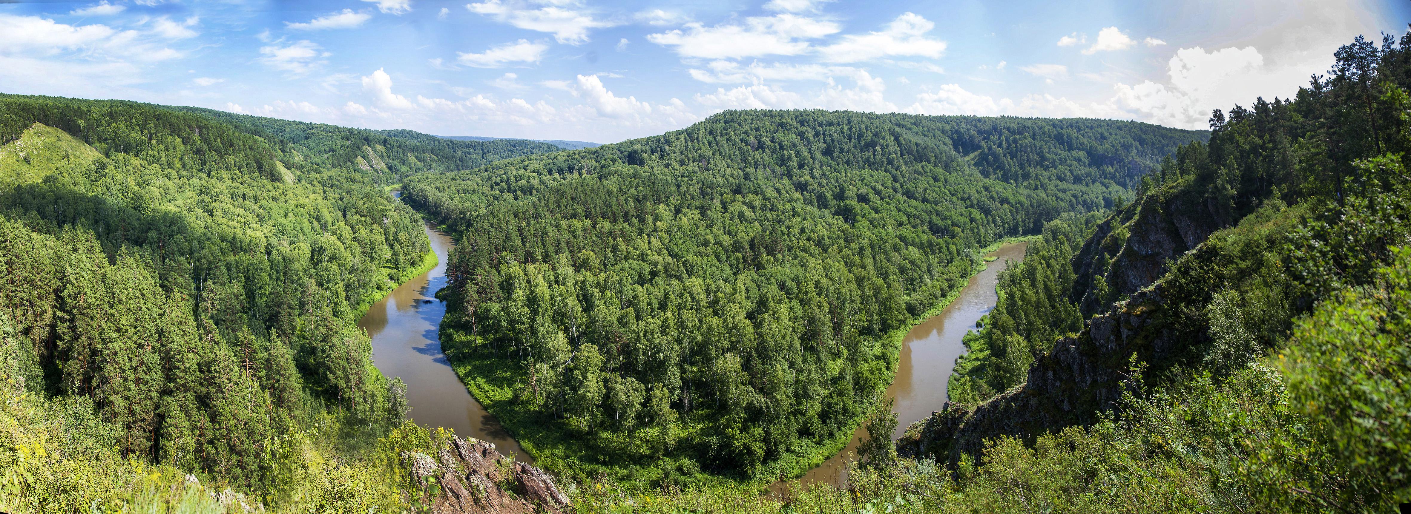 Излучина реки Бердь
