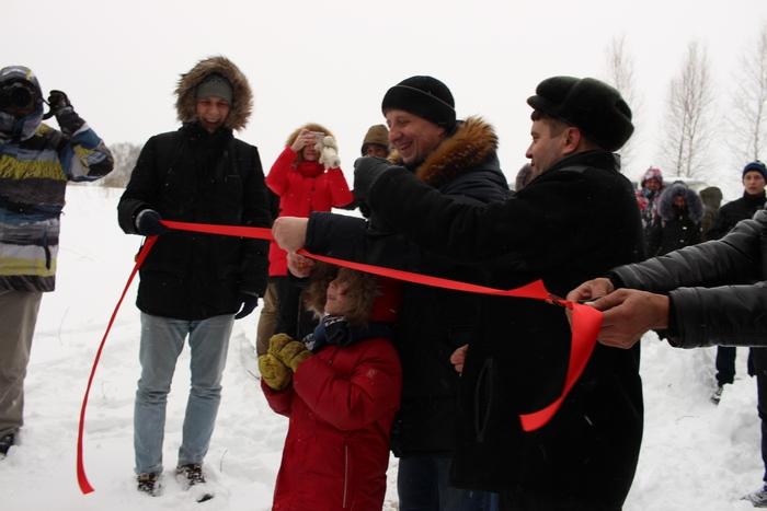 Торжественная церемония открытия эко