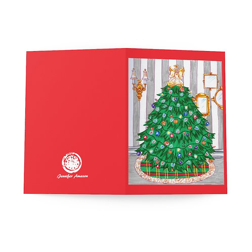 Christmas Tree, Greeting Cards (8 pcs)