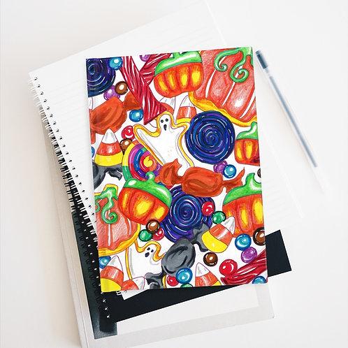 Halloween Candy Sketchbook, Blank Journal