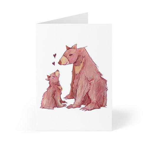 Mamabear, Greeting Cards (8 pcs)