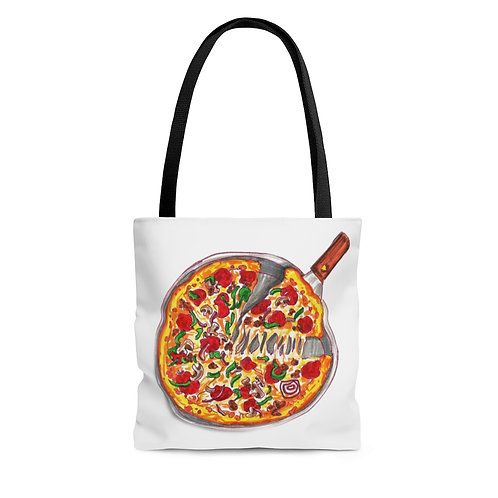 Pizza,Tote Bag