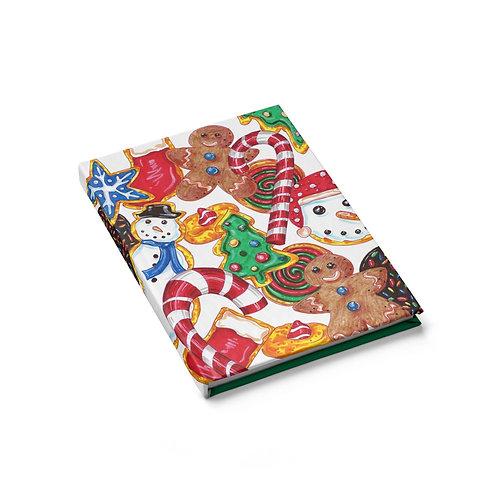 Holiday Cookies, Sketchbook, Blank Journal