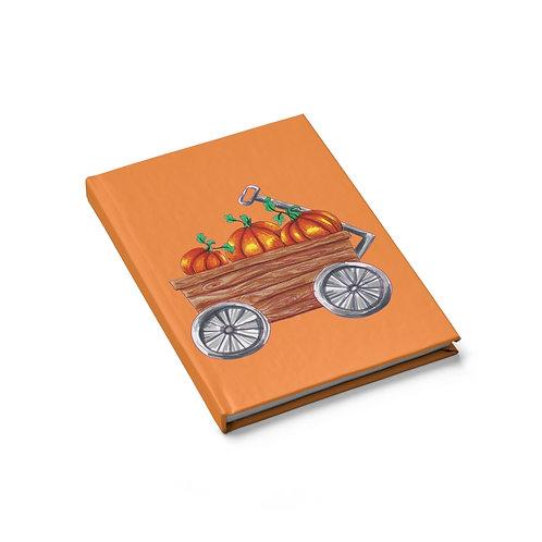 Pumpkin Wagon, Sketchbook, Blank Journal