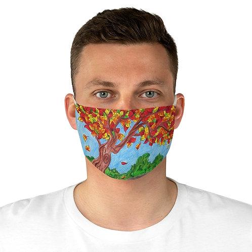 Autumn Leaves, Fabric Face Mask