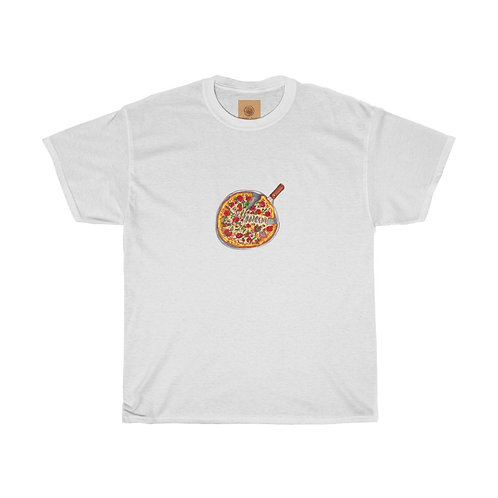 Pizza, Unisex Heavy Cotton Tee