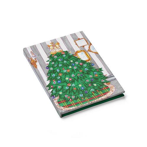 Christmas Tree, Sketchbook, Blank Journal
