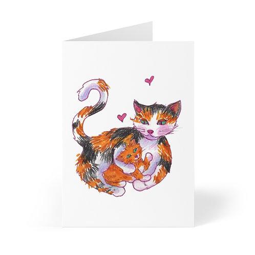 Cat Mama, Greeting Cards (8 pcs)