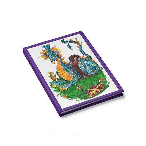 Vanessa and the Flightless Dragon, Journal - Blank