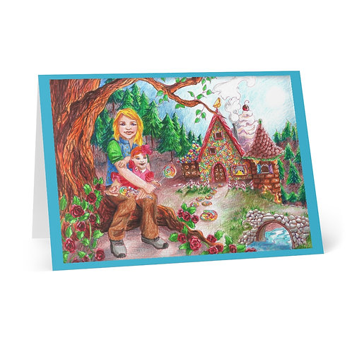 Hansel and Gretal, Greeting Cards (8 pcs)