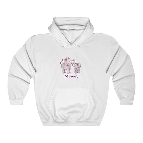 Mama Ella, Unisex Heavy Blend™ Hooded Sweatshirt