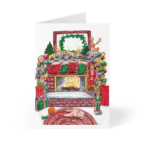 Merry and Bright, Greeting Cards (8 pcs)