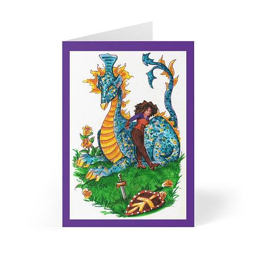 Vanessa and the Flightless Dragon, Greeting Cards (8 pcs)