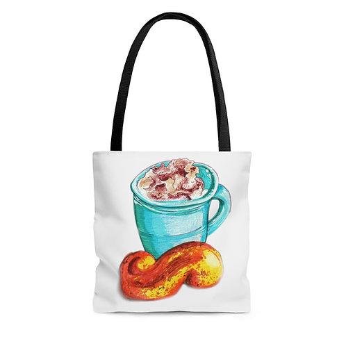 Latte,Tote Bag