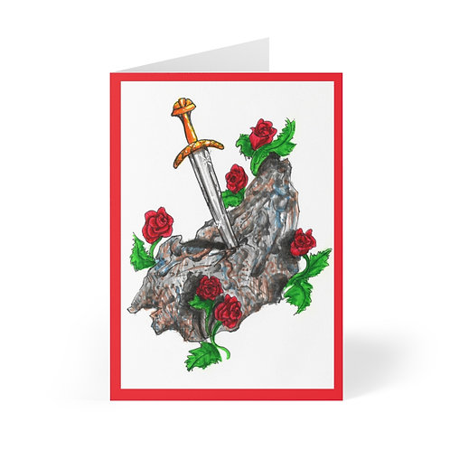 Sword in the Stone, Greeting Cards (8 pcs)