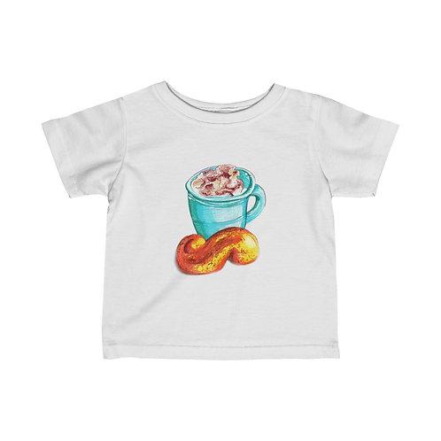Latte, Infant Fine Jersey Tee