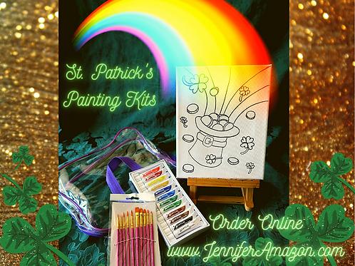 St Patrick's Paint with me Kit
