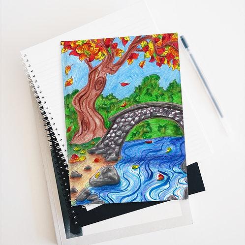 Autumn Leaves, Sketchbook, Blank Journal
