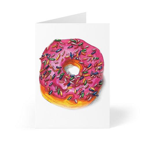 Donut, Greeting Cards (8 pcs)
