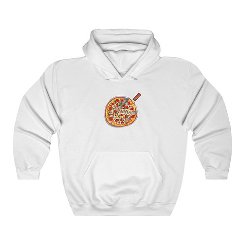 Pizza, Unisex Heavy Blend™ Hooded Sweatshirt