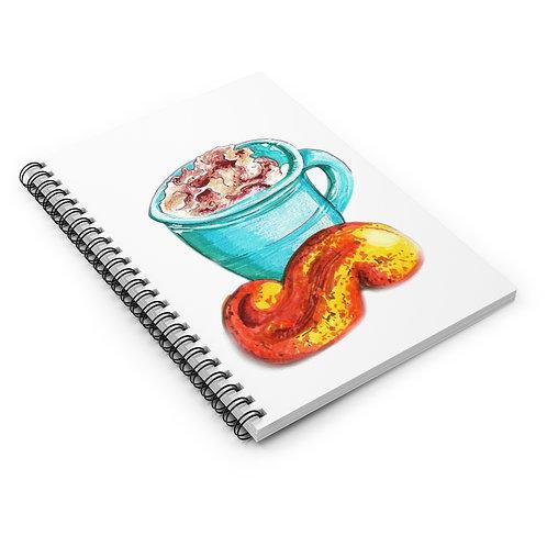 Latte, Spiral Notebook - Ruled Line