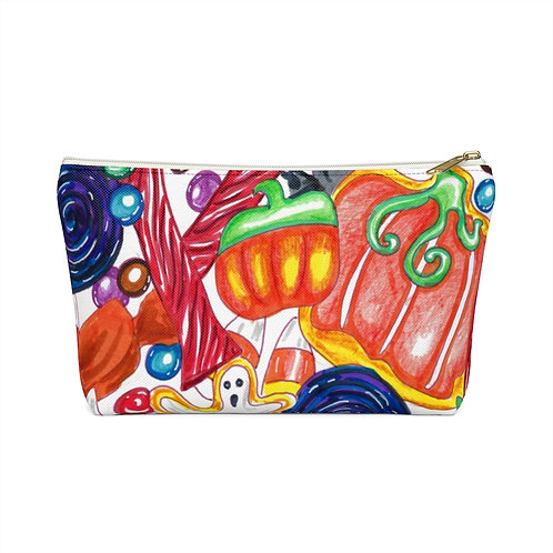 Halloween Candy, Accessory Pouch w T-bottom