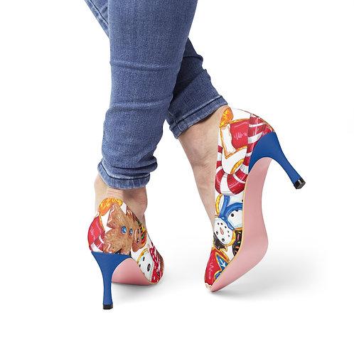 Holiday Cookies, Women's High Heels