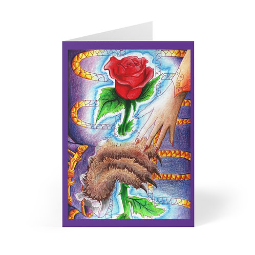 Beauty and the Beast, Greeting Cards (8 pcs)