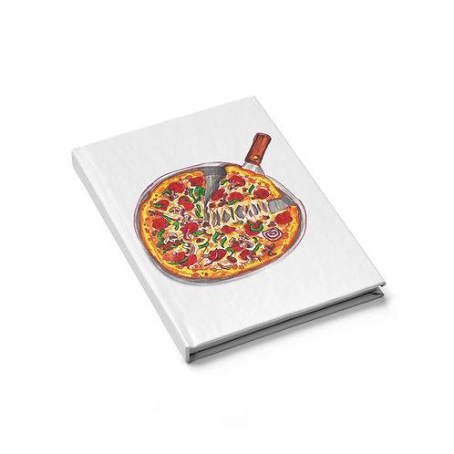 Pizza, Journal - Blank