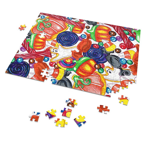 Halloween Candy Puzzle, 252 Pieces