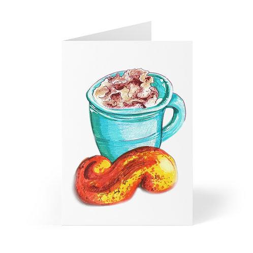 Latte, Greeting Cards (8 pcs)