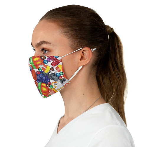 Halloween Candy Fabric Face Mask