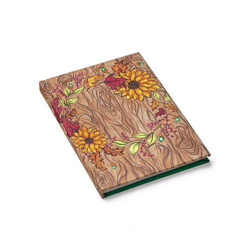Fall Wreath, Sketchbook, Blank Journal